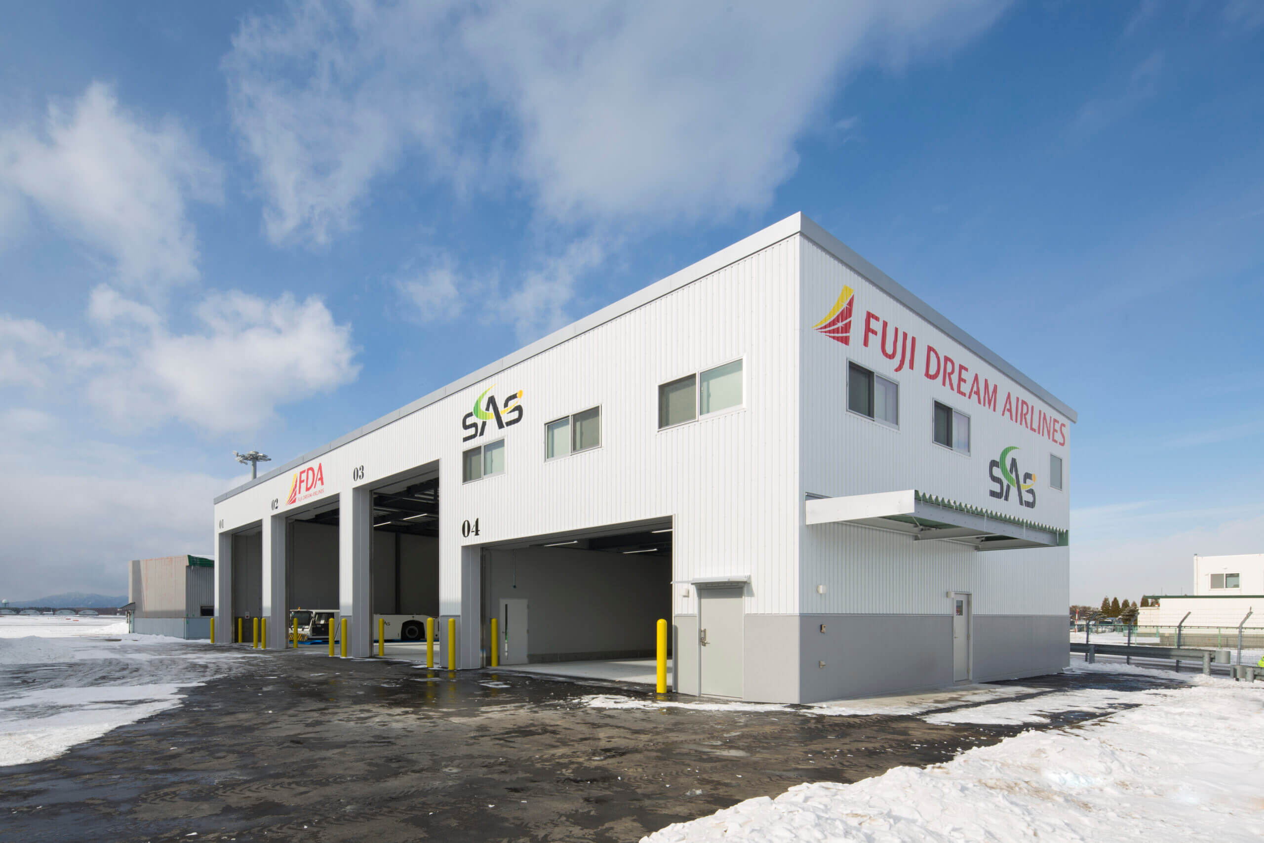 New Chitose Airport Hangar for GSE Vehicles
