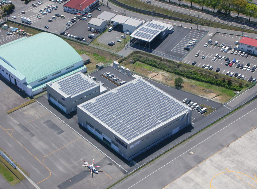 鹿児島空港物流施設