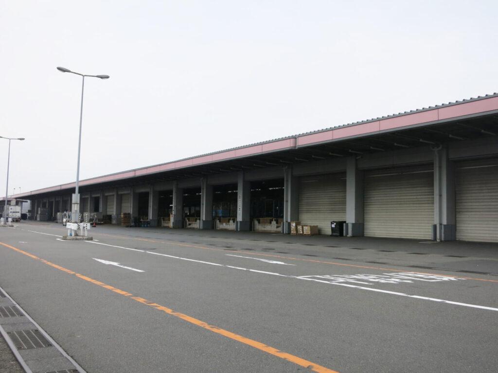 東側航空貨物ターミナル地区(国内貨物)