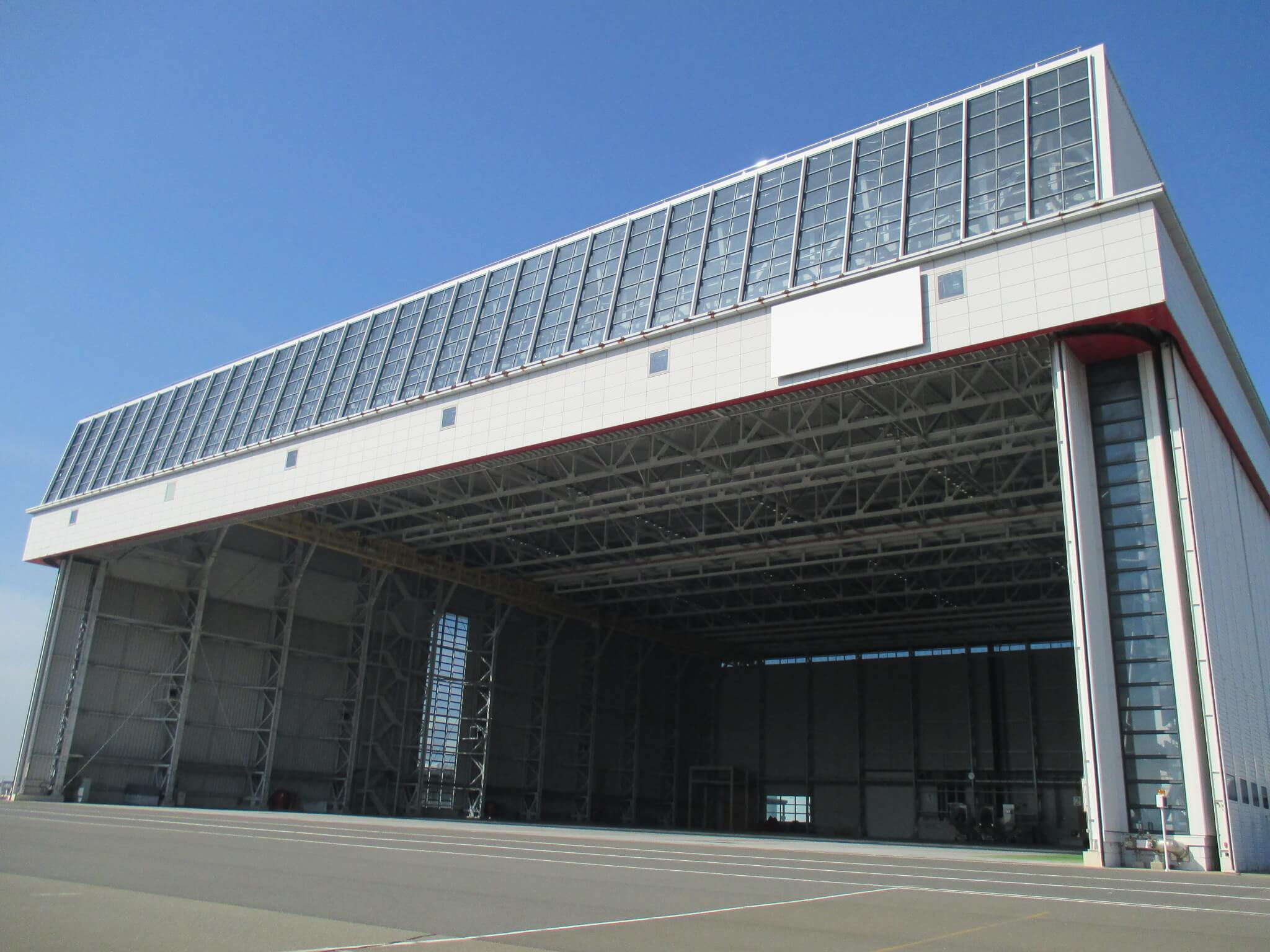 Kansai International Airport Hangar