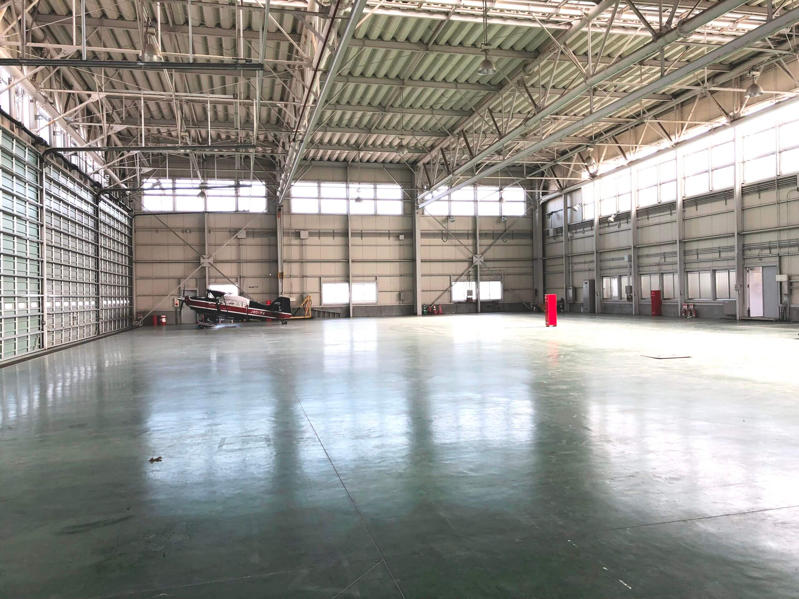 Small Aircraft Hangar No.2